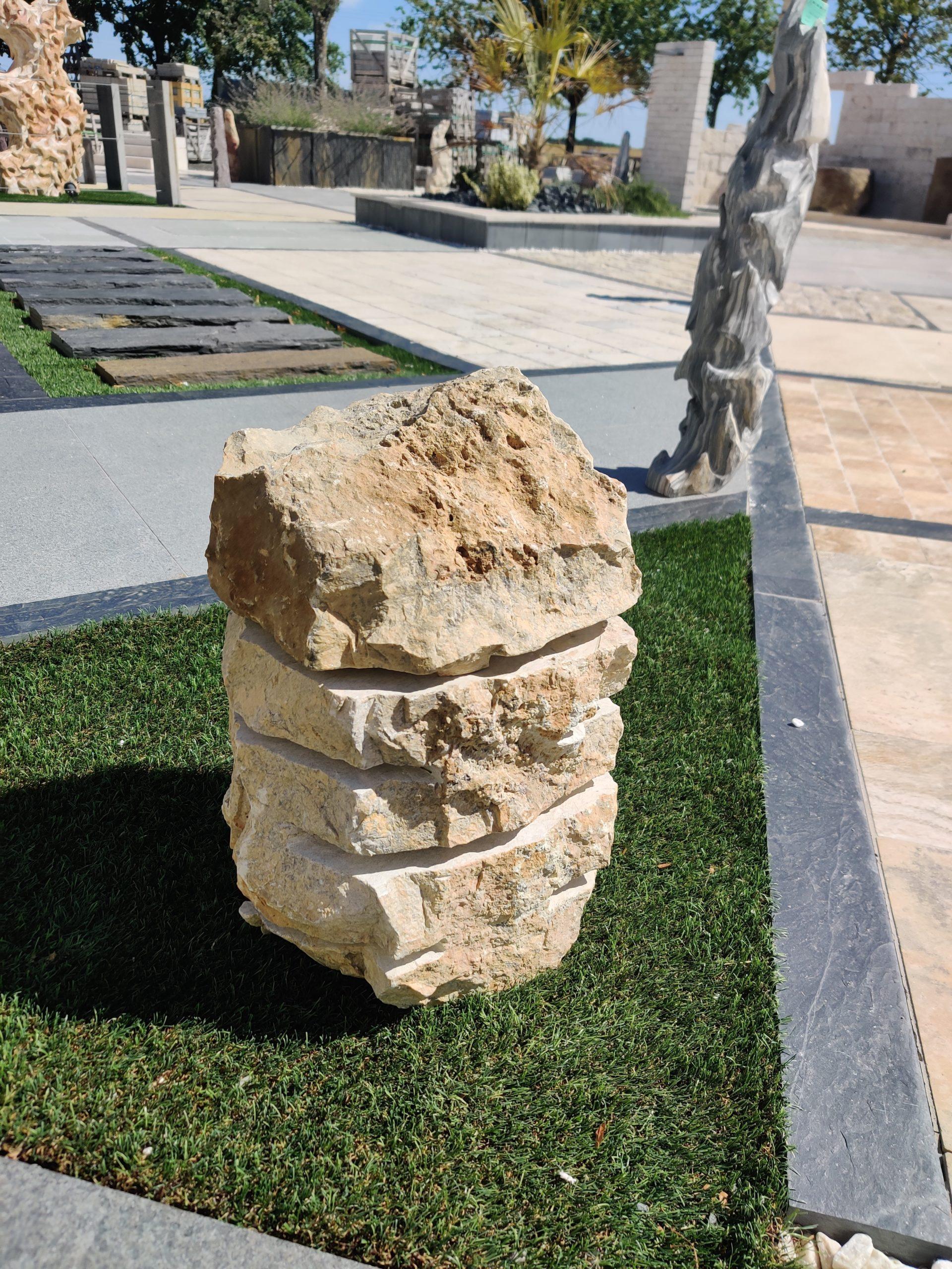 Lampe décoration en pierre naturelle